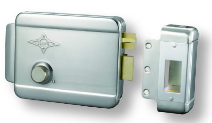 AX005 sand nickel single cylinder right lock